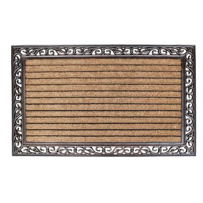 Striped Double Doormat