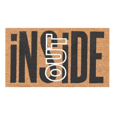 Inside Out Doormat