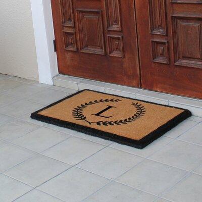 First Impression Doormat Letter: L