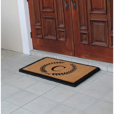 First Impression Doormat Letter: C