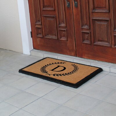 First Impression Doormat Letter: D