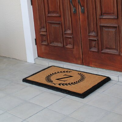 First Impression Doormat Letter: Z