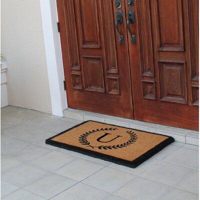 First Impression Doormat Letter: U