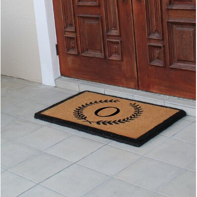 First Impression Doormat Letter: O