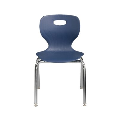Euroflex Classroom Chair Glide Type: Wool Felt, Seat Color: Black
