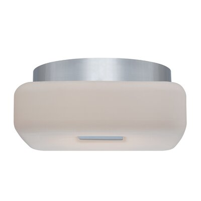 Vogue 1-Light Flush Mount Finish: Chrome