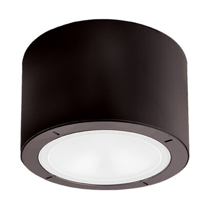 Vessel 1-Light LED Flush Mount Finish: Bronze