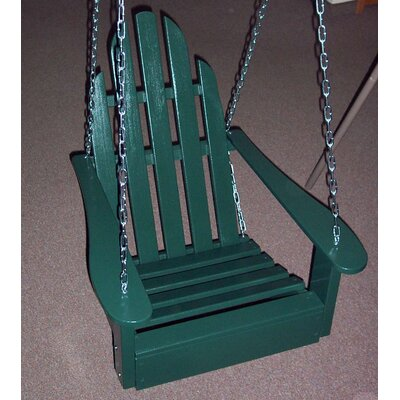 Adirondack Porch Swing Finish: Hunter Green