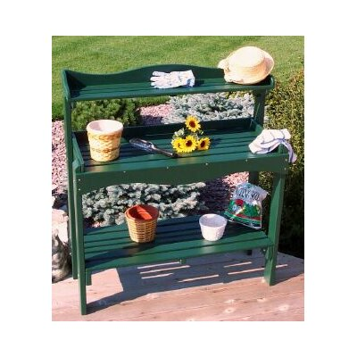 Backyard Buffet Table Finish: Hunter Green
