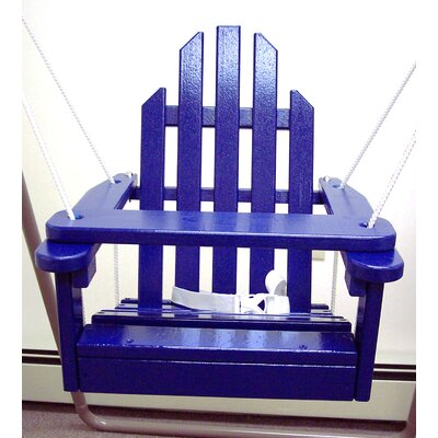 Kiddie Porch Swing Finish: Berry Blue