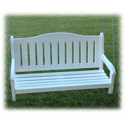 Garden Porch Swing Finish: Satin White