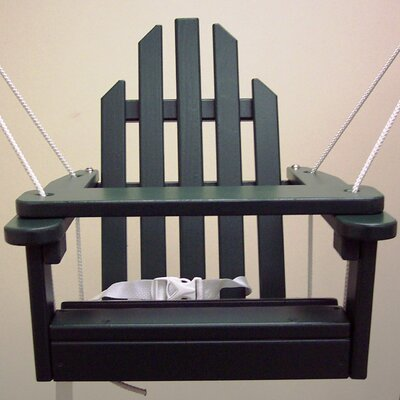 Kiddie Porch Swing Finish: Hunter Green
