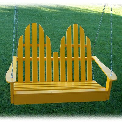 Adirondack Chair Swing Finish: Buttercup Yellow