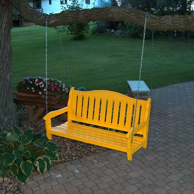 Garden Porch Swing Finish: Buttercup Yellow