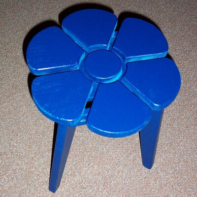 Junior Flower Side Table Finish: Berry Blue