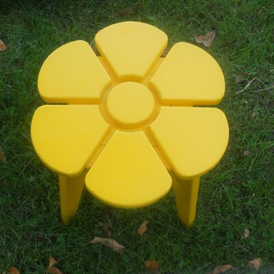 Junior Flower Side Table Finish: Buttercup Yellow