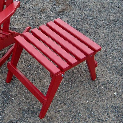 Kiddie Side Table Finish: Fire Engine Red