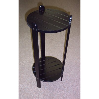 Cottage Bistro Table Finish: Black, Table Size: 36 H x 15 W x 15 D