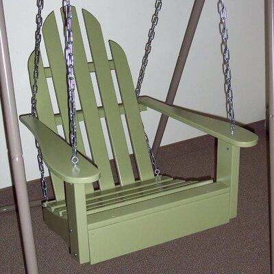 Adirondack Porch Swing Finish: Sage