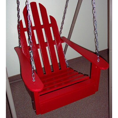 Adirondack Porch Swing Finish: Fire Engine Red