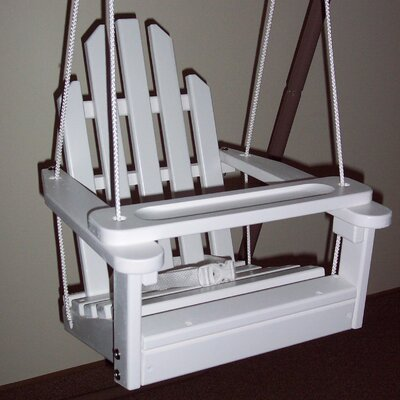 Kiddie Porch Swing Finish: Satin White