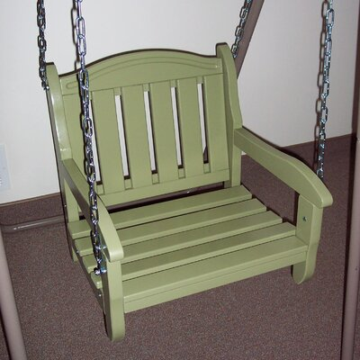 Garden Chair Porch Swing Finish: Sage