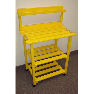 Barbecue Buddy Buffet Table Finish: Buttercup Yellow