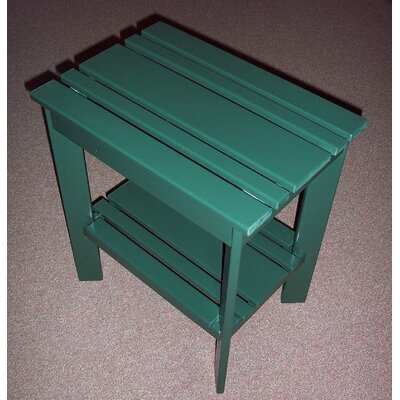 Grandparents Side Table Finish: Hunter Green
