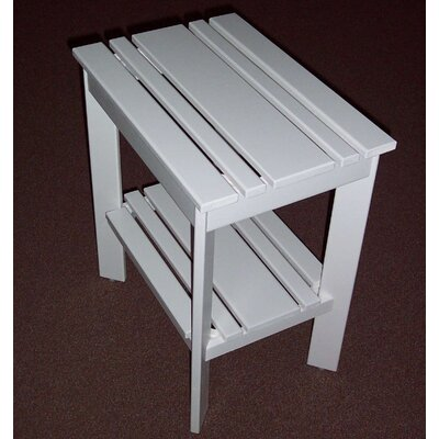 Grandparents Side Table Finish: Satin White