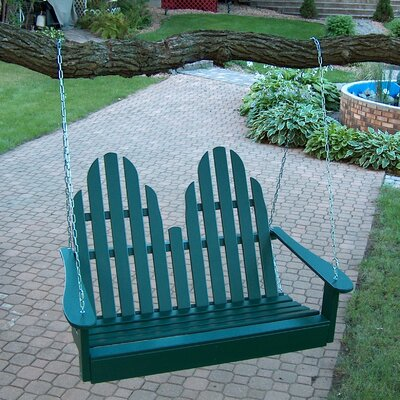 Adirondack Chair Swing Finish: Hunter Green