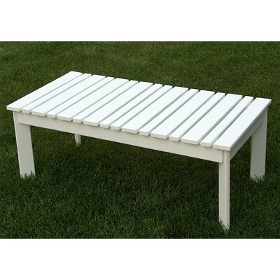 Coffee Table Finish: Satin White