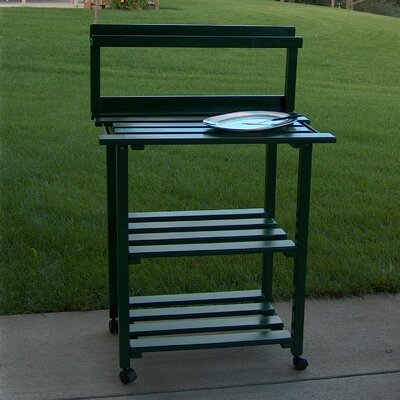 Barbecue Buddy Buffet Table Finish: Hunter Green