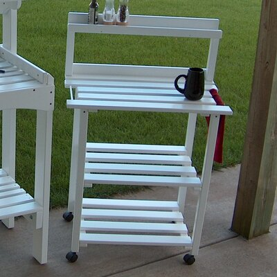 Barbecue Buddy Buffet Table Finish: Satin White