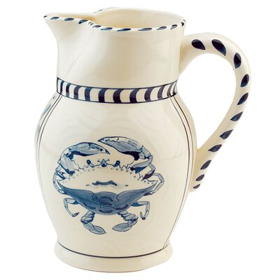 Blue Crab Cream Pitcher