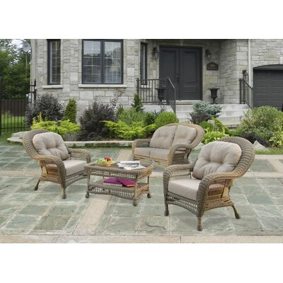 Saturn 5 Piece Seating Group Set with Cushion