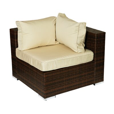 Caleigh 4 Piece Lounge Seating Group with Cushion