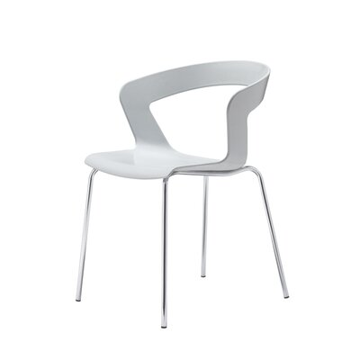Ibis Side Chair (Set of 4) Finish: Light Gray