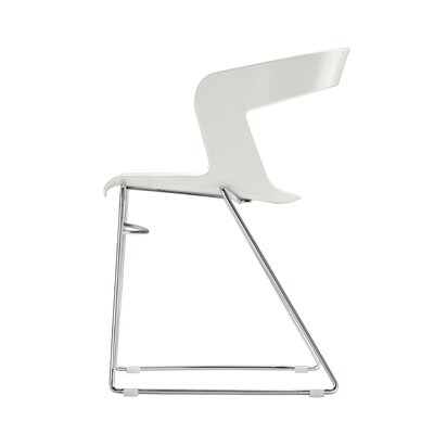Ibis Side Chair (Set of 4) Finish: Orange