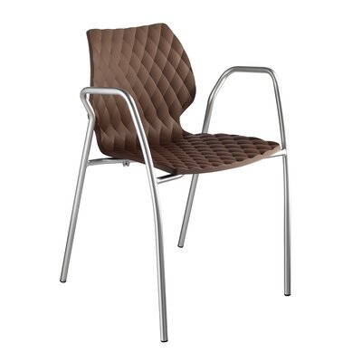 Uni PP Arm Chair (Set of 4) Finish: Turtle Dove