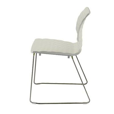 Uni PP Side Chair (Set of 4) Finish: Anthracite