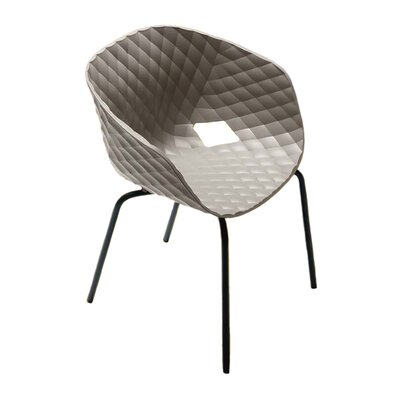 Uni-Ka Side Chair (Set of 4) Finish: Turtle Dove