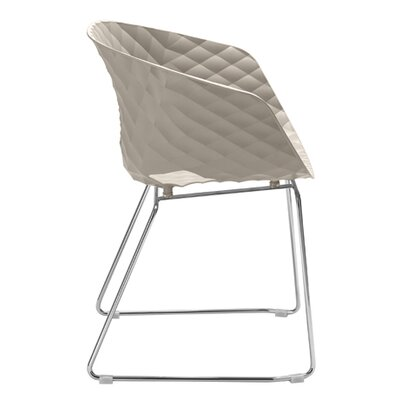 Uni-Ka Side Chair Finish: White