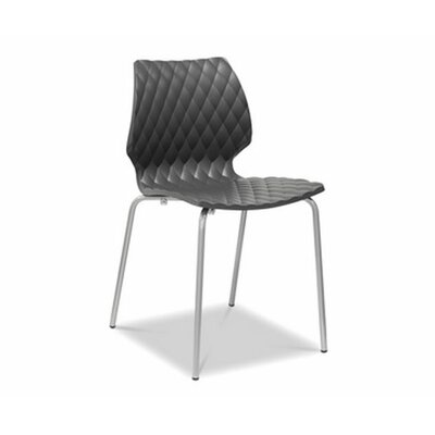 Uni PP Side Chair (Set of 4) Finish: Mocha
