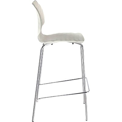 Uni PP 29.9 Bar Stool Upholstery: Black