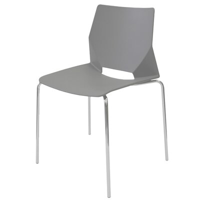Harlequin Side Chair (Set of 4) Finish: Gray