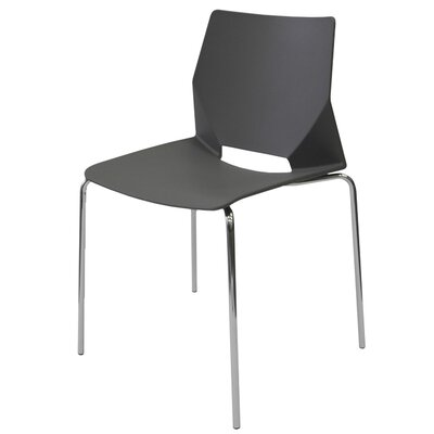 Harlequin Side Chair (Set of 4) Finish: Black