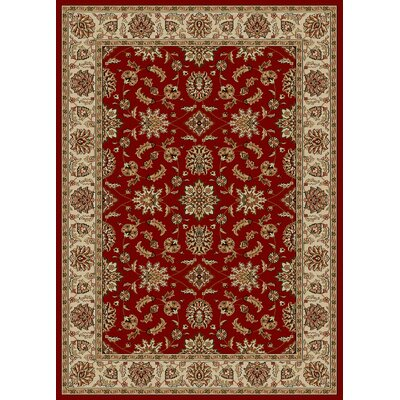 Colebrook Red Area Rug Rug Size: Rectangle 79 x 11