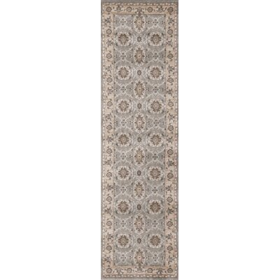 Avery Gray Area Rug Rug Size: Runner 22 x 77