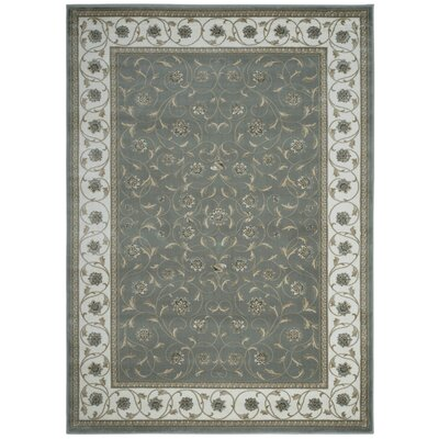 Light Green Area Rug Rug Size: Rectangle 53 x 73