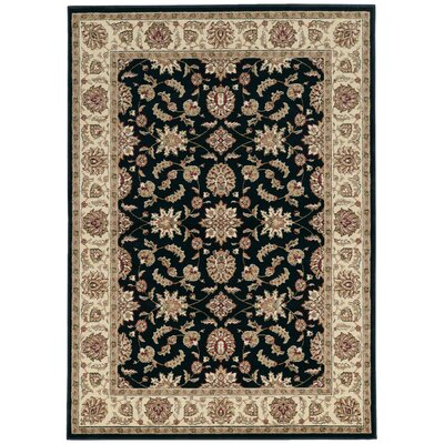 Northgate Black Area Rug Rug Size: Rectangle 33 x 411